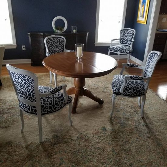 dining room transformation