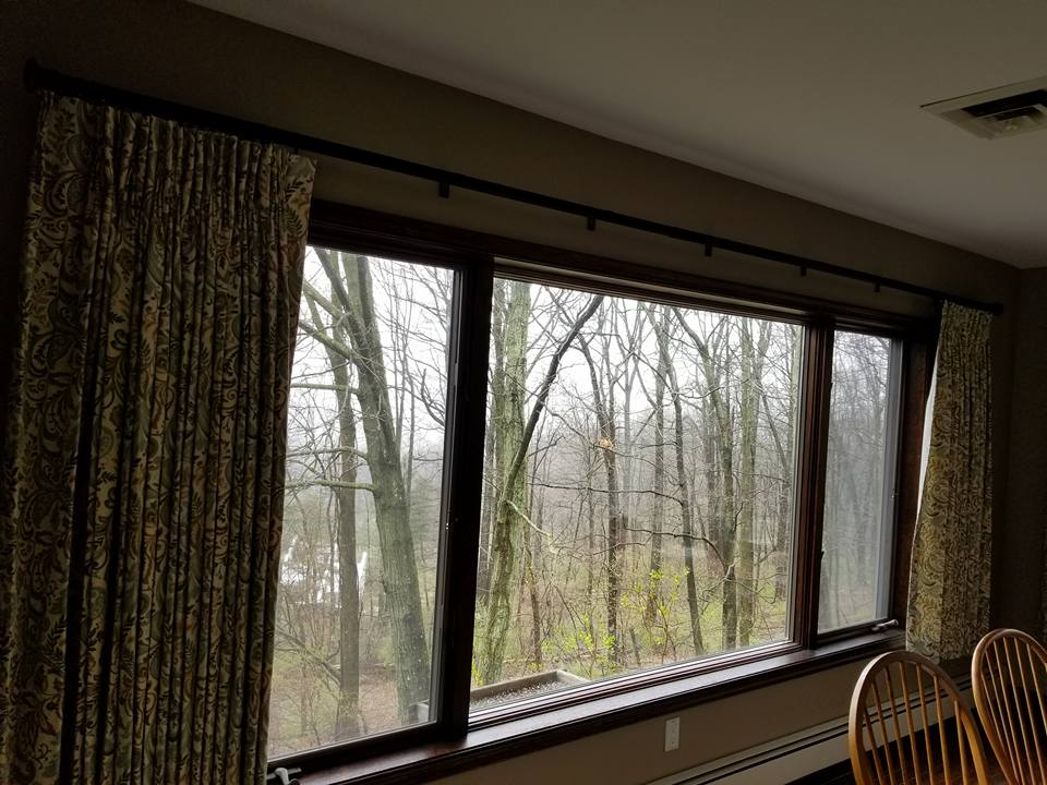 Pinched Pleat window treatment