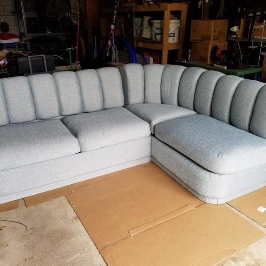 A boating sofa
