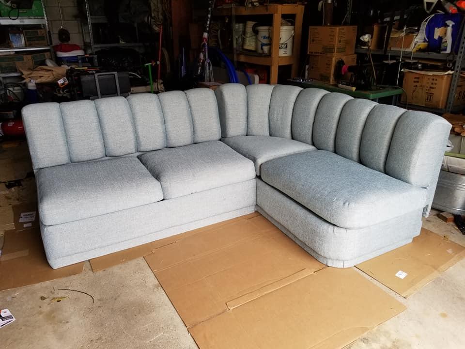 A boating sofa