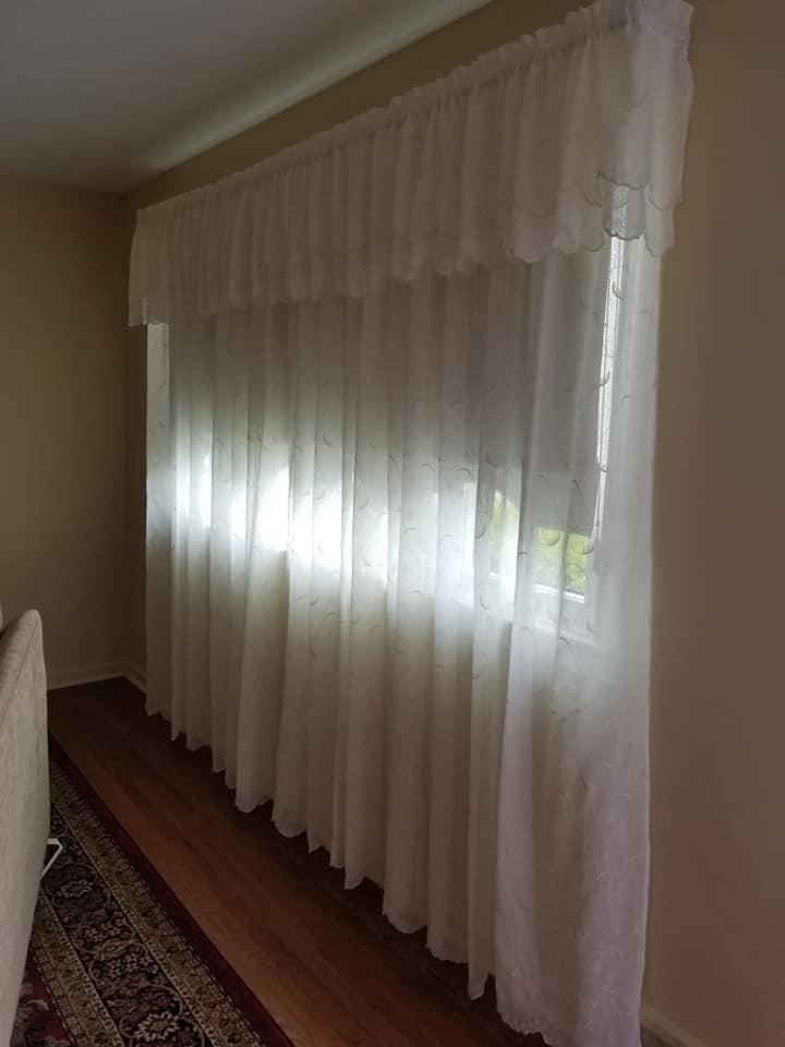 sheer window panels